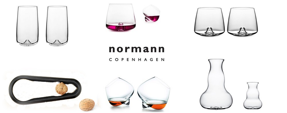 Normann Copenhagen Glass Collection